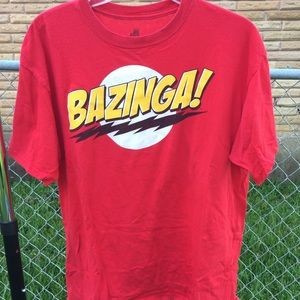 Red Bazinga! Shirt